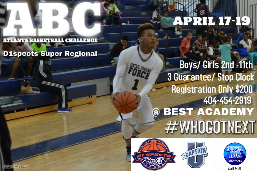 ABC Atlanta Basketball Challenge – SCHEDULE NOW POSTED!!!