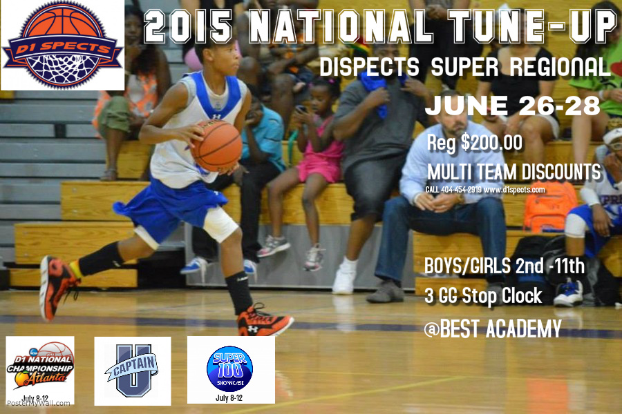 7th Annual National Tune-Up – D1spects Super Regional  June 26-28